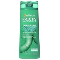 Garnier Fructis Non Stop Pure Coconut Water Σαμπουάν Για Λιπαρές Ρίζες/Ξηρές Άκρες 400ml