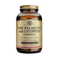 Solgar Saw Palmetto Lycopene Complex Φυτικά Εκχυλίσματα 50 Veg. Caps