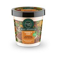 Organic Shop Body Desserts Almond & Honey Ενυδατική Μους Σώματος Με Αμύγδαλο & Μέλι 450ml