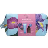 Apivita Set Με Aqua Beelicious Απαλή Κρέμα Προσώπου Ενυδάτωσης Πλούσιας Υφής Με Λουλούδια & Μέλι 40ml & Δώρο Micellar Νερό Καθαρισμού Προσώπου/Ματιών Με Τριαντάφυλλο & Μέλι 75ml