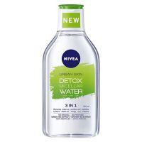 Nivea Urban Skin Detox Νερό Ντεμακιγιάζ Για Μεικτές/Λιπαρές Επιδερμίδες 400ml