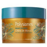 Klorane Polysianes Creme De Monoi Θρεπτική Κρέμα Σώματος Για Μετά Τον Ήλιο 200ml