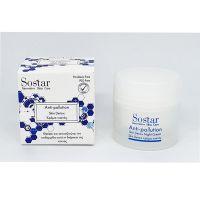 Sostar Anti-Polution Κρέμα Προσώπου Νυκτός 50ml