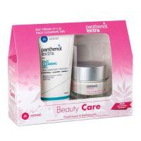 Panthenol Extra Beauty Care Set Με Κρέμα Προσώπου Ημέρας Για Ενυδάτωση Spf15 50ml & Τζελ Καθαρισμού Προσώπου 150ml