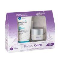 Panthenol Extra Beauty Care Set Με Αντιρυτιδική Κρέμα Προσώπου/Ματιών 50ml & Τζελ Καθαρισμού Προσώπου 150ml