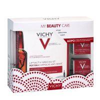 Vichy My Beauty Care Set Με Liftactiv Specialist Peptide-C Αμπούλες Για Γέμισμα Ρυτίδων & Λάμψη 30x1.8ml & Δώρο Liftactiv Collagen Specialist Κρέμα Προσώπου Για Επανόρθωση Βαθιών & Κάθετων Ρυτίδων Για Όλες Τις Επιδερμίδες 2x15ml