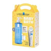 La Roche-Posay Baby Bath Set Με Lipikar Gel Καθαρισμού Προσώπου/Σώματος Με προστατευτική & Καταπραϋντική Δράση Για Ευαίσθητο Δέρμα 400ml & Δώρο Cicaplast Baume B5 Κρέμα Ανάπλασης Προσώπου/Σώματος/Χειλιών Για Το Ερεθισμένο/Ξηρό Δέρμα Όλης Της Οικογένειας 15ml