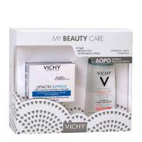 Vichy My Beauty Care Set Με Vichy Liftactiv Supreme Κρέμα Ημέρας Αντιγήρανσης & Ανόρθωσης Για Κανονικό/Μικτό Δέρμα 50ml & Δώρο Mineral Micellar Νερό Καθαρισμού & Ντεμακιγιάζ Με Μεταλλικά Στοιχεία 100ml
