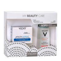 Vichy My Beauty Care Set Με Liftactiv Supreme Κρέμα Ημέρας Αντιγήρανσης & Ανόρθωσης Για Ξηρό/Πολύ Ξηρό Δέρμα 50ml & Δώρο Mineral Micellar Νερό Καθαρισμού & Ντεμακιγιάζ Με Μεταλλικά Στοιχεία 100ml