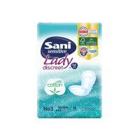 Sani Sensitive Lady Discreet Σερβιέτα Για Ειδικές Χρήσεις No3 Normal 16τμχ