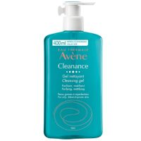 Avene Cleanance Τζελ Καθαρισμού Προσώπου/Σώματος Για Λιπαρή Επιδερμίδα Με Ατέλειες 400ml