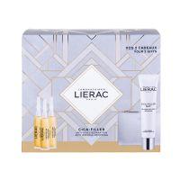 Lierac Cica-Filler Set Δώρου Με Αντιρυτιδικό Ορό Επανόρθωσης Προσώπου 3x10ml & Δώρο Αντιρυτιδική Τζελ-Κρέμα Επανόρθωσης Προσώπου Για Κανονικό/Μικτό Δέρμα 40ml & Δερμάτινο Πορτοφόλι