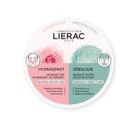 Lierac Duo Mask Hydragenist & Sebologie Μάσκες Προσώπου Για Εντατική Ενυδάτωση & Βαθύ Καθαρισμό 2*6ml