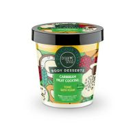 Organic Shop Body Desserts Caribbean Fruit Cocktail Τονωτικό Αφρόλουτρο Σώματος 450ml