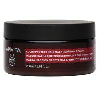 Apivita Color Protect Μάσκα Προστασίας Χρώματος Με Ηλίανθο & Μέλι 200ml