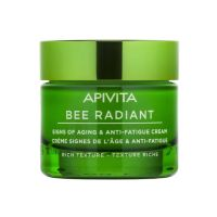 Apivita Bee Radiant Κρέμα Προσώπου Πλούσιας Υφής Για Σημάδια Αντιγήρανσης & Ξεκούραστη Όψη Για Ξηρές Επιδερμίδες 50ml