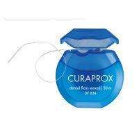 Curaprox Dental Floss Waxed Κερωμένο Οδοντικό Νήμα DF 834 50m