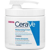 CeraVe Ενυδατική Κρέμα Προσώπου/Σώματος Για Ξηρό/Πολύ Ξηρό Δέρμα Με Αντλία 454gr