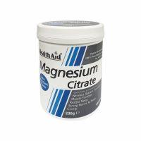 Health Aid Magnesium Citrate Σκόνη Κιτρικού Μαγνησίου 200gr