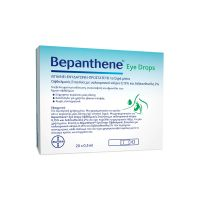 Bepanthene Eye Drops Οφθαλμικές Σταγόνες με Υαλουρονικό Νάτριο 20x0.5ml