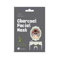 Cettua Clean & Simple Charcoal Μάσκα Προσώπου Καθαρισμού & Σύσφιγξης Πόρων 1τμχ