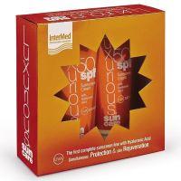Luxurious Sun Care Set Αντηλιακή Κρέμα Προσώπου με Υαλουρονικό Oξύ Spf50 75ml Οξύ & Αντηλιακή Κρέμα Σώματος με Yαλουρονικό Oξύ Spf50 200ml