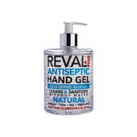 Reval Plus Antiseptic Hand Gel Natural Αλκοολούχος Αντισηπτική Γέλη 500ml