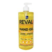 Reval Plus Αλκοολούχος Αντισηπτική Γέλη Με Άρωμα Λεμόνι 1lt