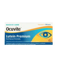 Ocuvite Lutein Premium Συμπλήρωμα Διατροφής για την Ηλικιακή Εκφύλιση Ωχράς Κηλίδας 30 ταμπλέτες
