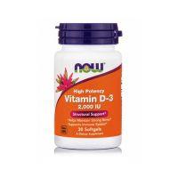 Now Foods High Potency Vitamin D-3 2000IU 30 softgels
