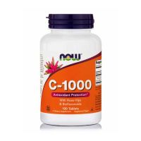 Now Foods C-1000 Βιταμίνη C με Βιοφλαβονοειδή Βραδείας Αποδέσμευσης 100 ταμπλέτες