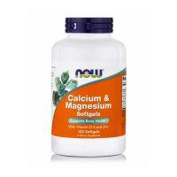 Now Foods Calcium & Magnesium με Βιταμίνη D-3 & Ψευδάργυρο 120 softgels