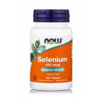 Now Foods Selenium 100mcg 100 Tablets