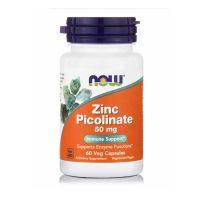 Now Foods Zinc Picolinate 50mg 60 vegicaps