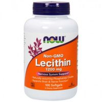 Now Foods Lecithin 1200mg Συμπλήρωμα Διατροφής για την Υγεία του Νευρικού Συστήματος 100softgels