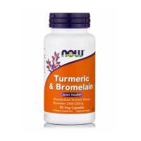 Now Foods Turmeric & Bromelain 90 vegicaps