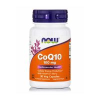 Now Foods CoQ10 100mg Συμπλήρωμα Διατροφής για την Καρδιαγγειακή Υγεία 30 vegicaps
