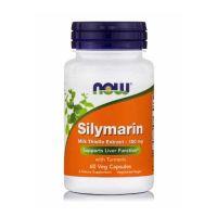 Now Foods Silymarin Milk Thistle Extract 150mg Συμπλήρωμα Διατροφής για την Αποτοξίνωση του Συκωτιού 60 vegicaps