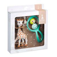 "Sophie La Girafe Set Δώρου για το Νεογέννητο ""Μια Φορά Κι Έναν Καιρό"""