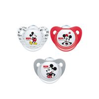 Nuk Trendline Disney Mickey Mouse Πιπίλα Σιλικόνης 0-6m 1τμχ