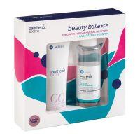 Panthenol Extra Beauty Balance Set Με CC Κρέμα Ημέρας Λεπτόρρευστης Υφής Με Χρώμα Spf15 Dark Shade 75ml & Micellar Νερό Καθαρισμού/Ντεμακιγιάζ Προσώπου/Ματιών 3 Σε 1 100ml