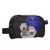 Apivita Resque Hair Loss for Men Set με Τονωτικό Σαμπουάν με Hippophae TC & Δενδρολίβανο 250ml & Λοσιόν Κατά Της Τριχόπτωσης 150ml & Συμπλήρωμα Διατροφής Για Υγιή Μαλλιά & Νύχια 30 Κάψουλες