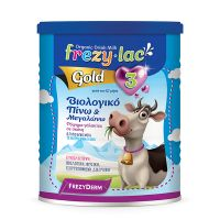 Frezylac Gold 3 Βιολογικό Ρόφημα Αγελαδινού Γάλακτος Για Βρέφη 12m+ 400g