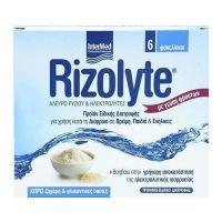 Rizolyte Συμπλήρωμα Διατροφής Με Ηλεκτρολύτες Για Την Πρόληψη & Αποκατάσταση Της Αφυδάτωσης 6τμχ