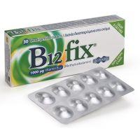 Uni-Pharma B12 fix 1000mg Συμπλήρωμα Διατροφής 30 δισκία