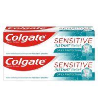 Colgate Sensitive Instant Relief Οδοντόκρεμα Καθημερινής Προστασίας για Ευαίσθητα Δόντια 75ml 1+1