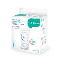 Babyono Get Ready! Σακουλάκια Αποθήκευσης Μητρικού Γάλακτος 20τμχ