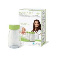 ARDO Μπουκάλια Συλλογής & Αποθήκευσης Μητρικού Γάλακτος 3x150ml