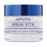 Apivita Aqua Vita Κρέμα-Τζελ Προσώπου Εντατικής Ενυδάτωσης Για Λιπαρές/Μικτές Επιδερμίδες 50ml