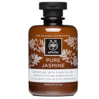Apivita Pure Jasmine Αφρόλουτρο Με Αιθέρια Έλαια & Γιασεμί 300ml